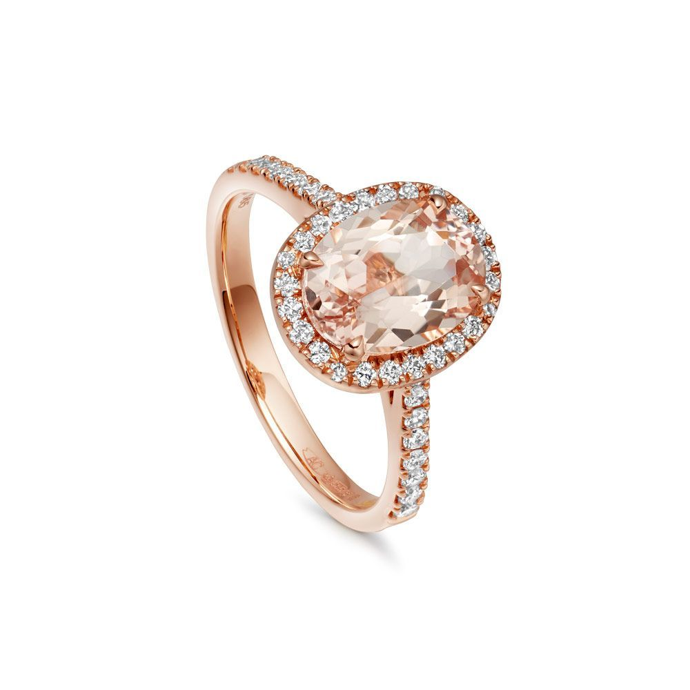 b7265b1949d11 Extending the best-selling Morganite Tearoom ring collection, this ...
