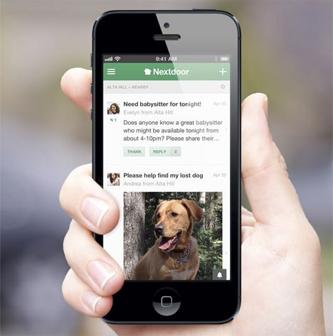 Nextdoor App Lets You Get to Know Your Neighbors