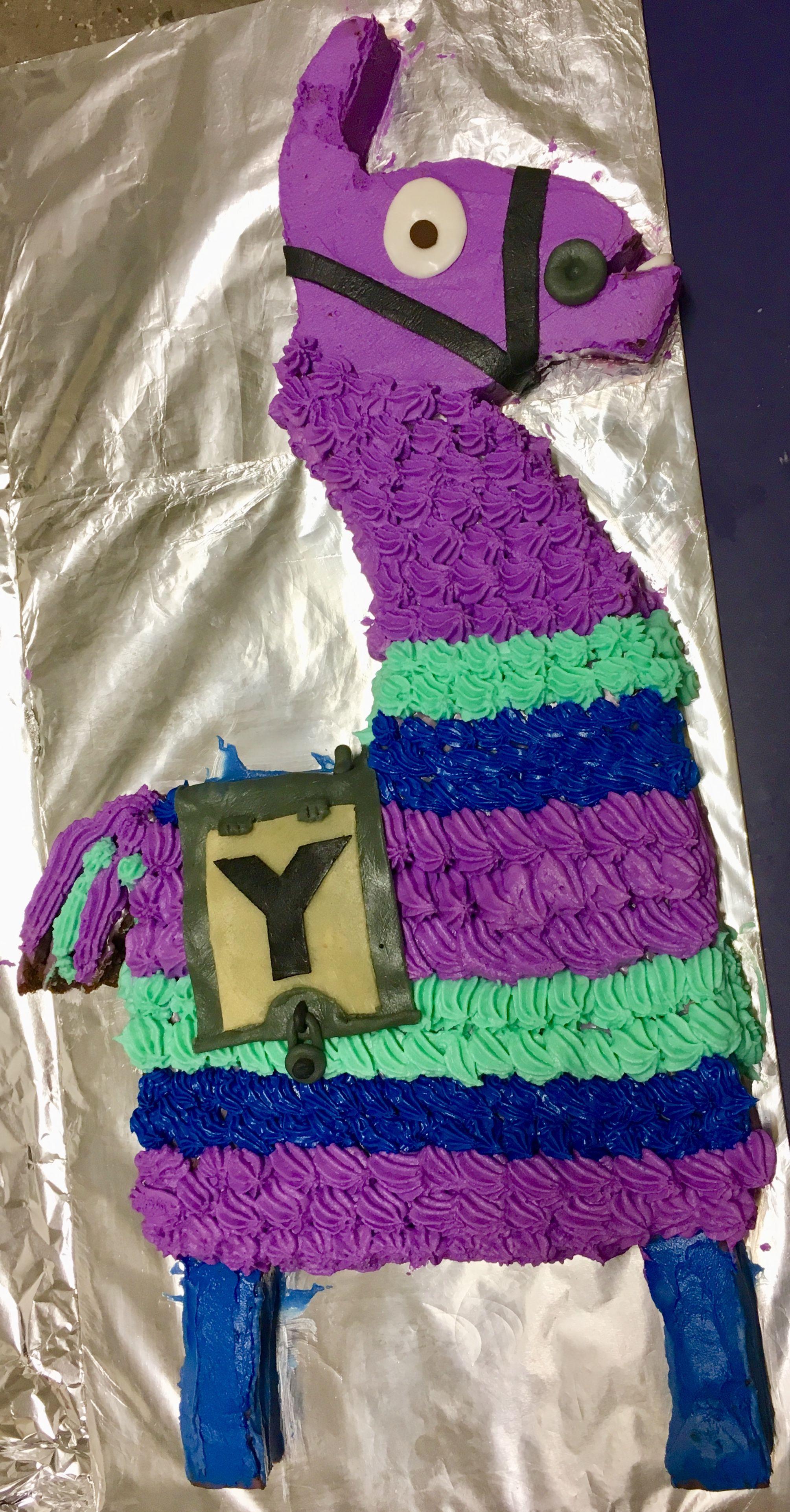 Fortnite Lama Kuchen In 2019 Kuchen S 252 223 E Ideen Und