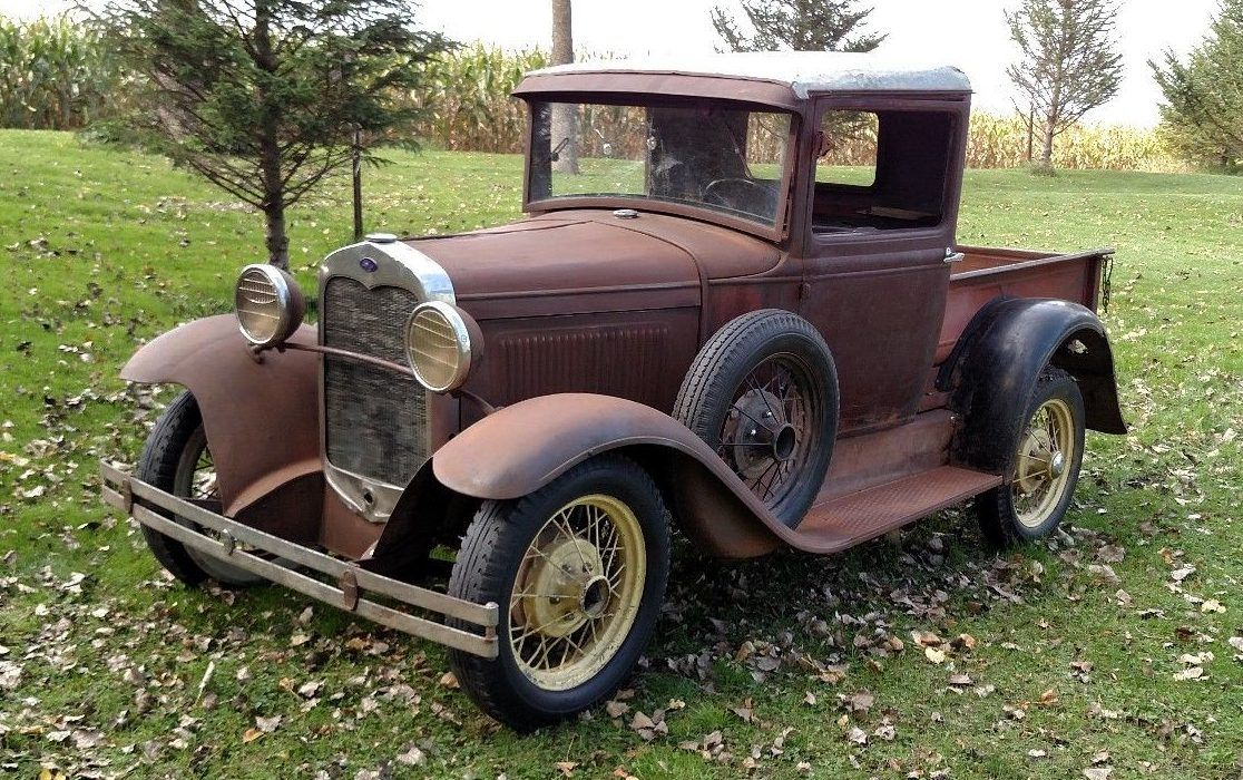 Basic Hauler 1930 Ford Model A Pickup With Images Ford Trucks
