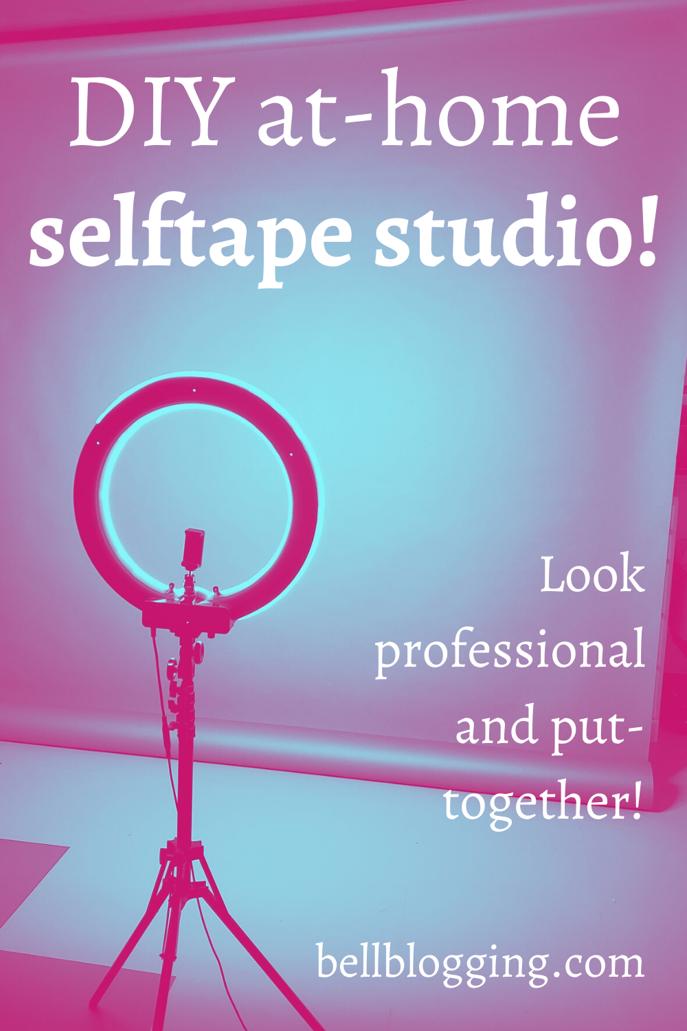 Athome Selftape Studio Do you want to consistently show casting directors how professional you are Do you want them to know that when they ask YOU for a selftape theyre g...