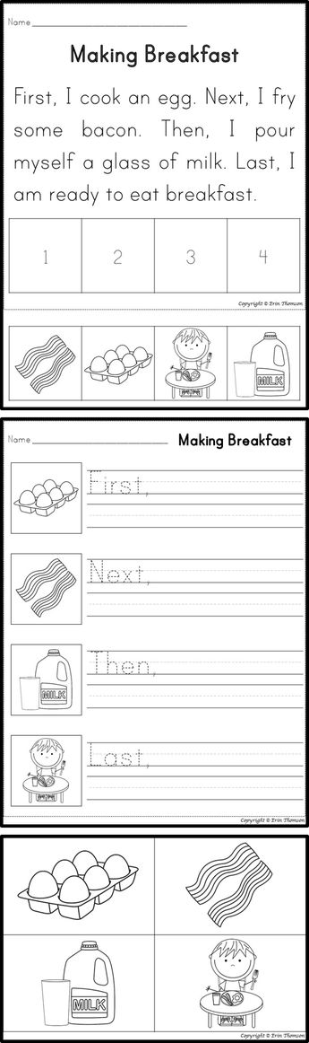 Sequencing Story First Next Then Last With Pictures Sequencing Worksheets Text Structure Worksheets 1st Grade Reading Worksheets