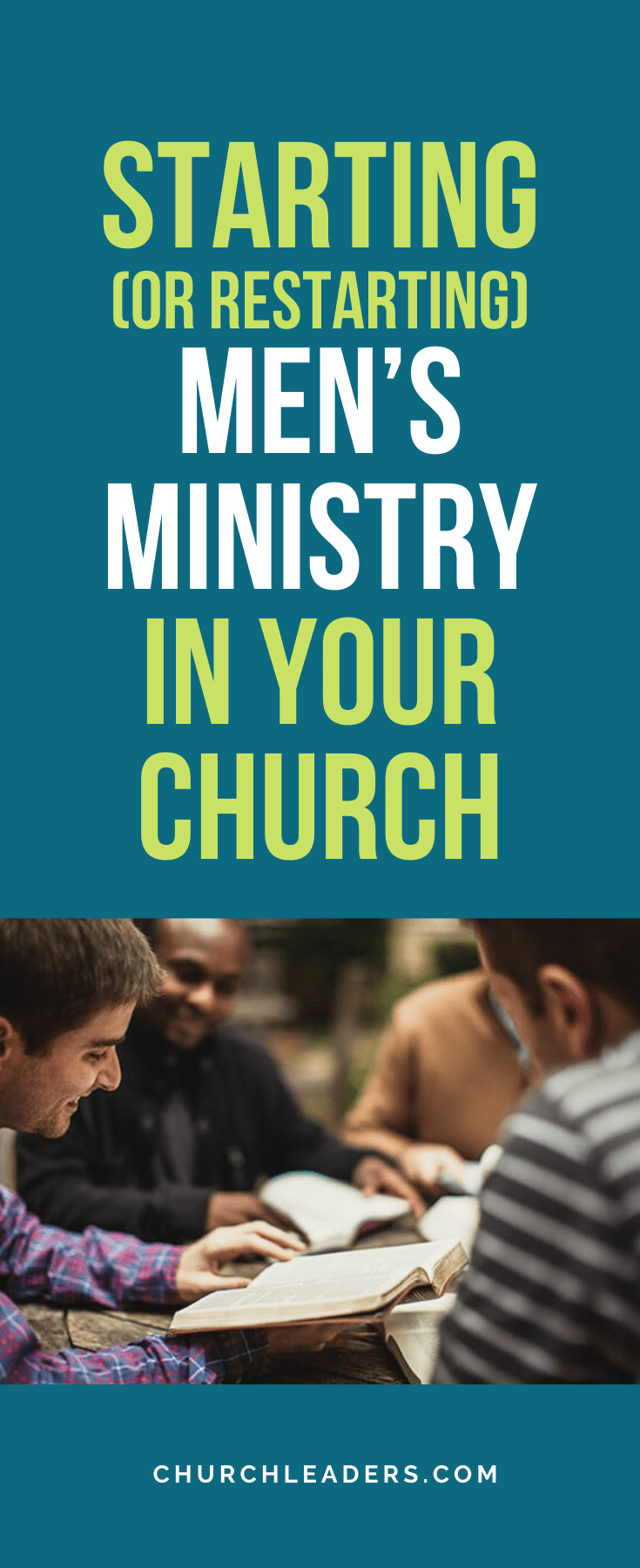Starting (or Restarting) Men's Ministry In Your Church in