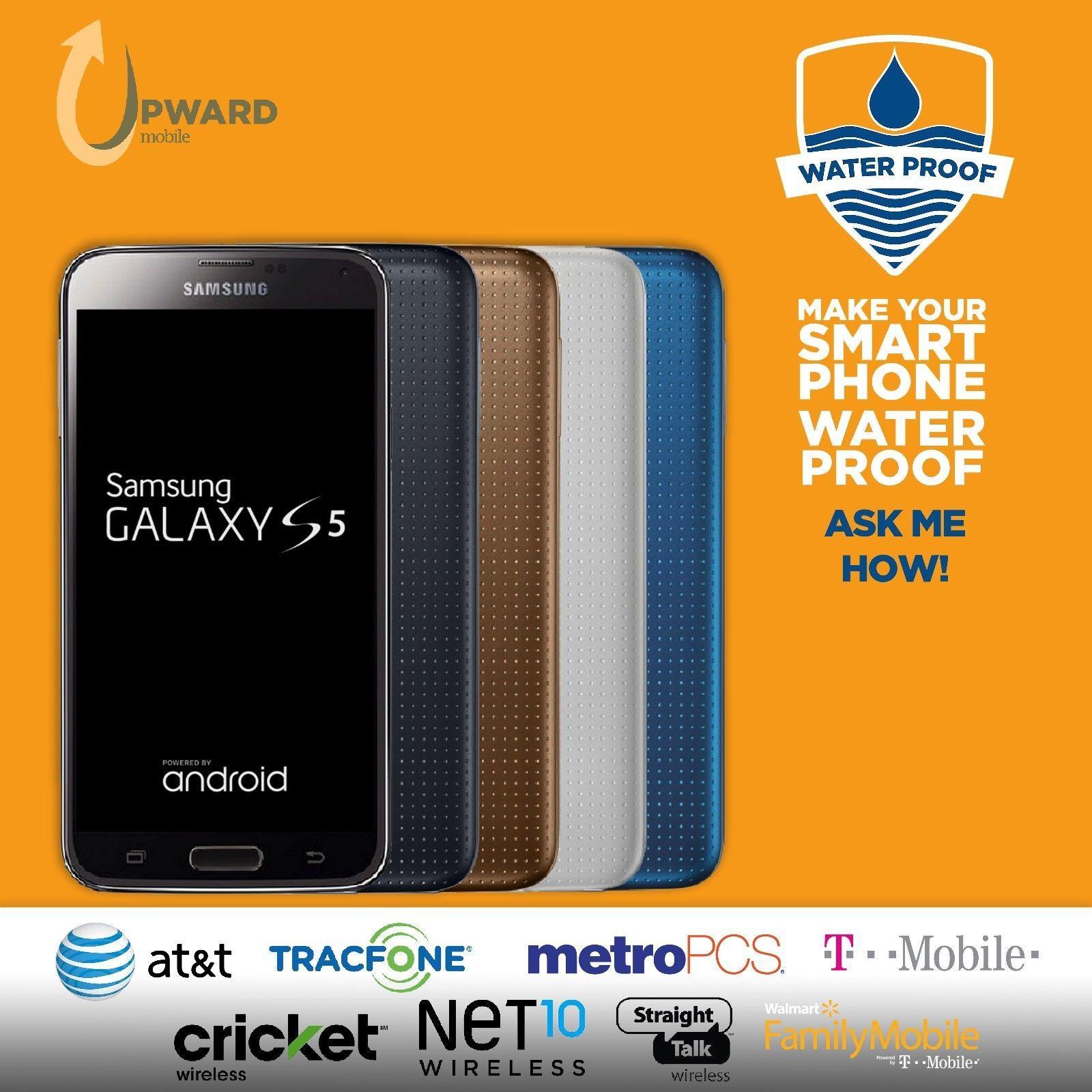 Samsung Galaxy S5 (16GB,32GB) Straight Talk AT&T Cricket T