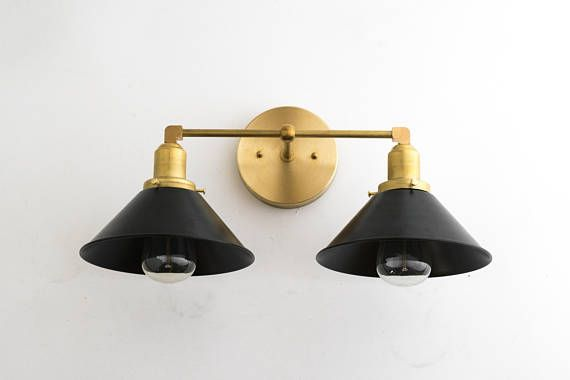Modern Vanity Lighting Edison Bulb Light Bathroom Wall Fixture