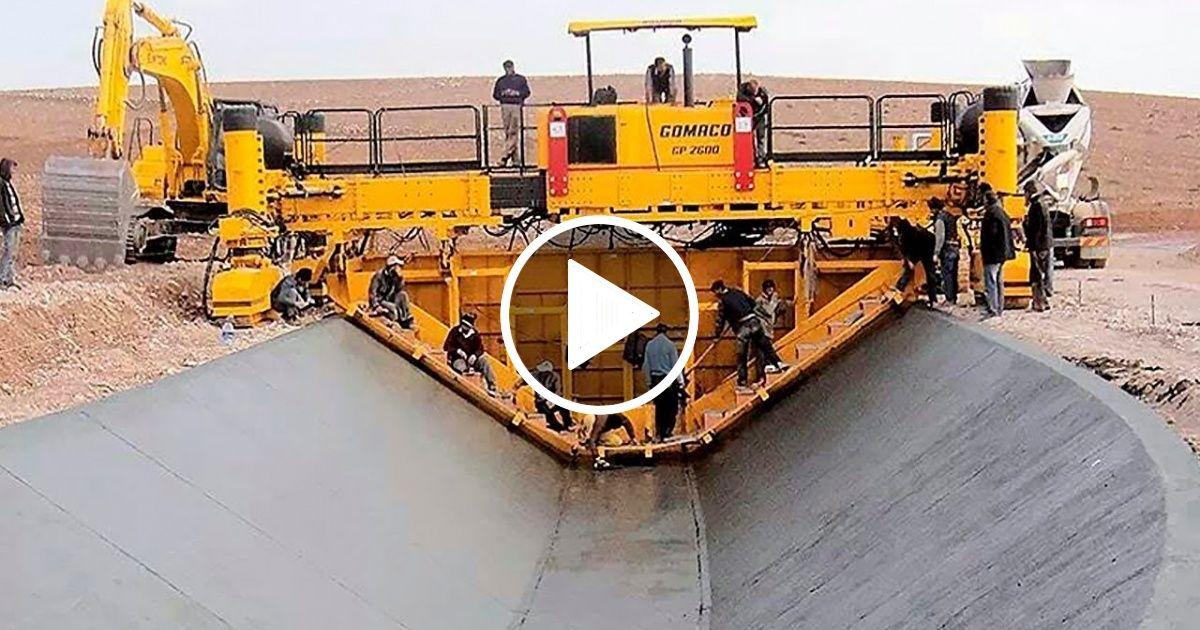 MOST AMAZING MODERN TECHNOLOGY ROAD CONSTRUCTION MACHINES
