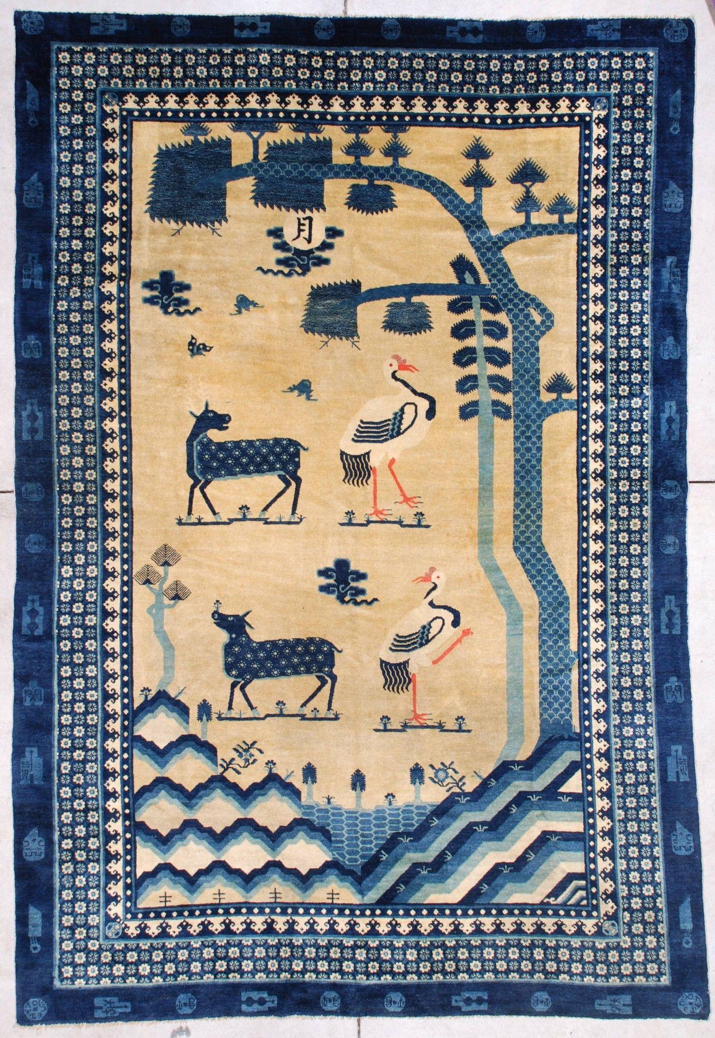 7261 Antique Mongolian Rug 6 5 X 9 4 Antique Oriental Rugs Antique Oriental Rugs Art Deco Rugs Rugs