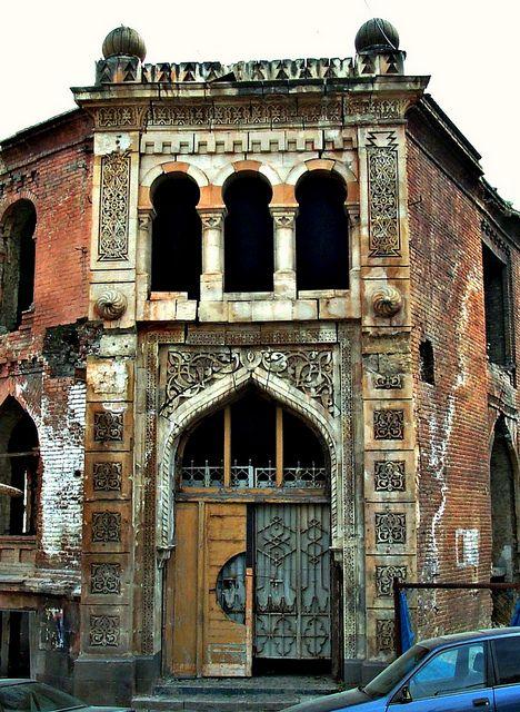 Arabesque Building, Tbilisi, Georgia. The Great Silk Road.