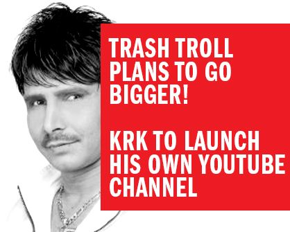 KRK to launch his own Youtube channel http://www.bollywoodgaga.com/trade-truck-details.php?id=106