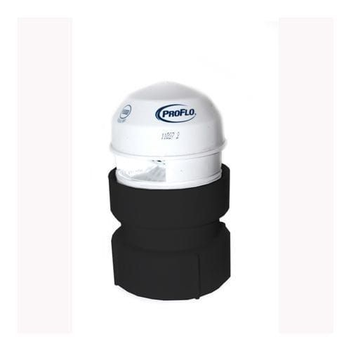 Proflo Pfaav20a 1 1 2 X 2 Abs Sch 40 Adapter Air Admittance Valve Sold In Quantities Of 6 For Venting 2 Dwv And Smaller Abs