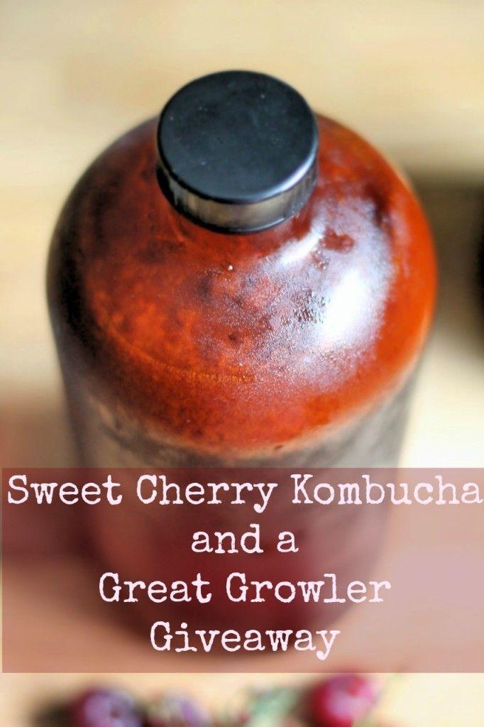 Cherry Kombucha Recipe Phickle Kombucha Recipe Kombucha Sweet Cherries