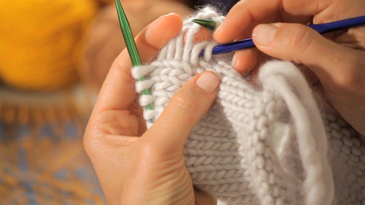 How to fix mistakes circular knitting circular