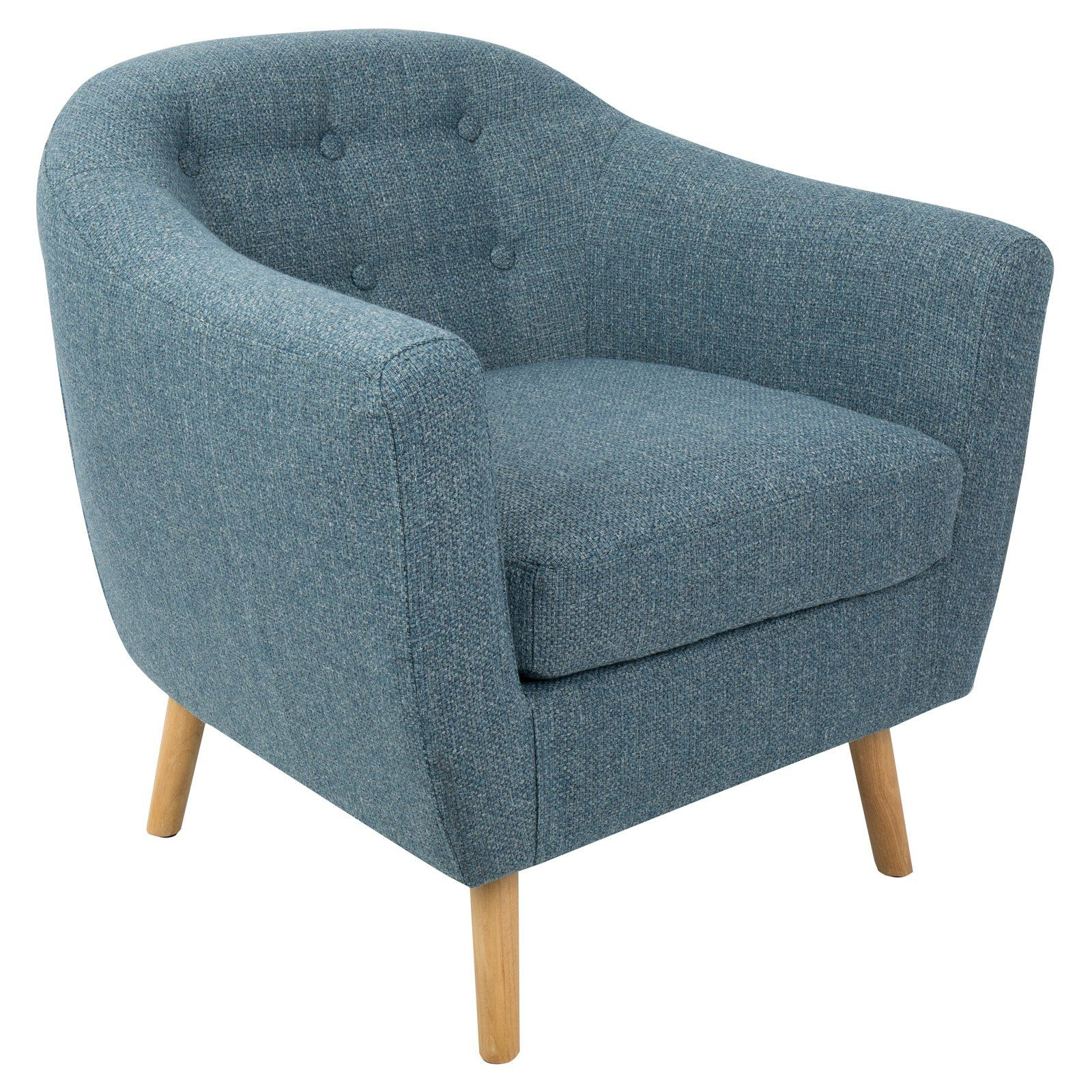 Best Lumisource Rockwell Mid Century Modern Accent Chair From 400 x 300