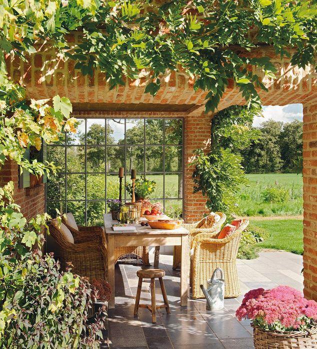 ...garden setting