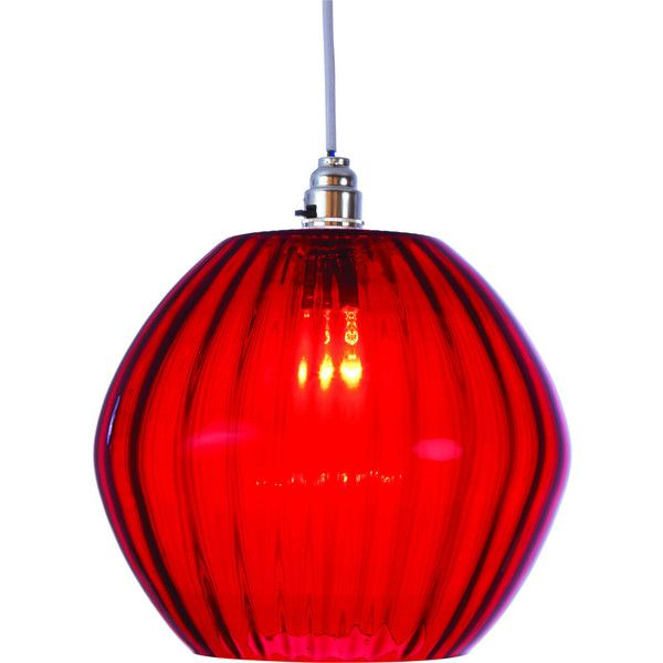Marni Glass Pendant Red Red Lamp Shade Glass Pendants Red Lamp