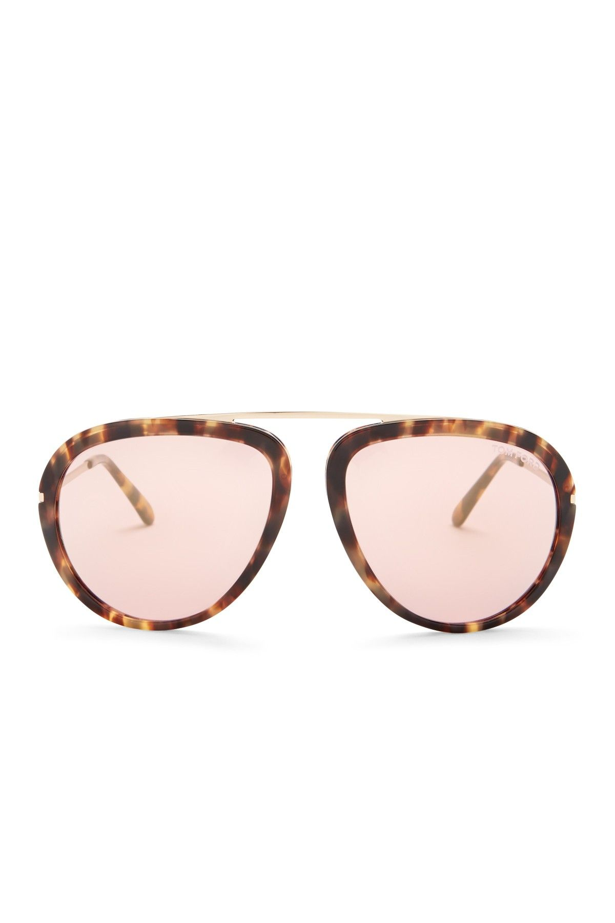 Tom Ford | Womenu0027s Stacy Bridgeless Aviator Sunglasses | Nordstrom Rack