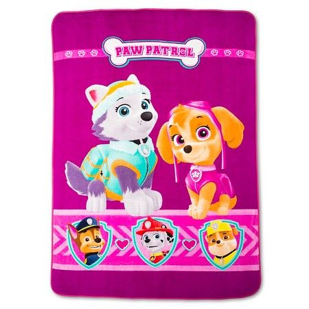Paw Patrol Bed Blanket - Twin