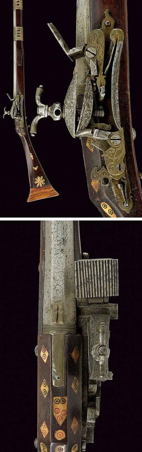 A fine miquelet flintlock moukala,second quarter of the 19th Century  provenance: Morocco .