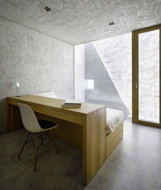 installer un bureau avec sa tete de lit