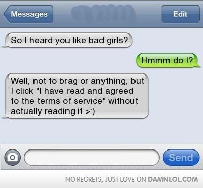 so i heard you like bad girls funny pinterest funny texts