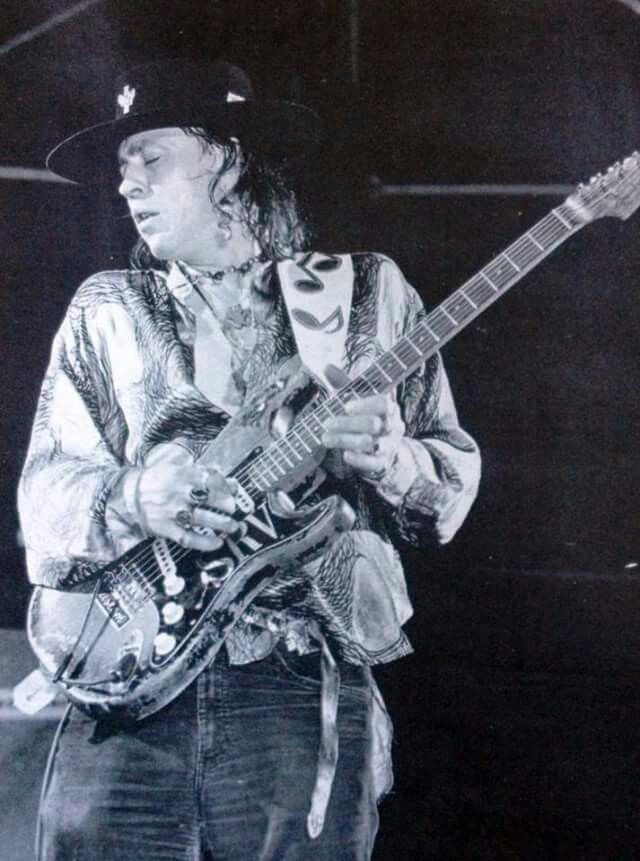 ☆ The late, great Stevie Ray Vaughan. (October 3, 1954 – August 27, 1990 (35)) ☆