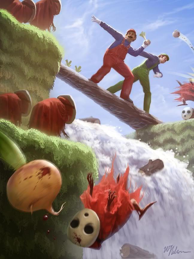 Haha If Mario Luigi Were Real P Mario Fan Art Game