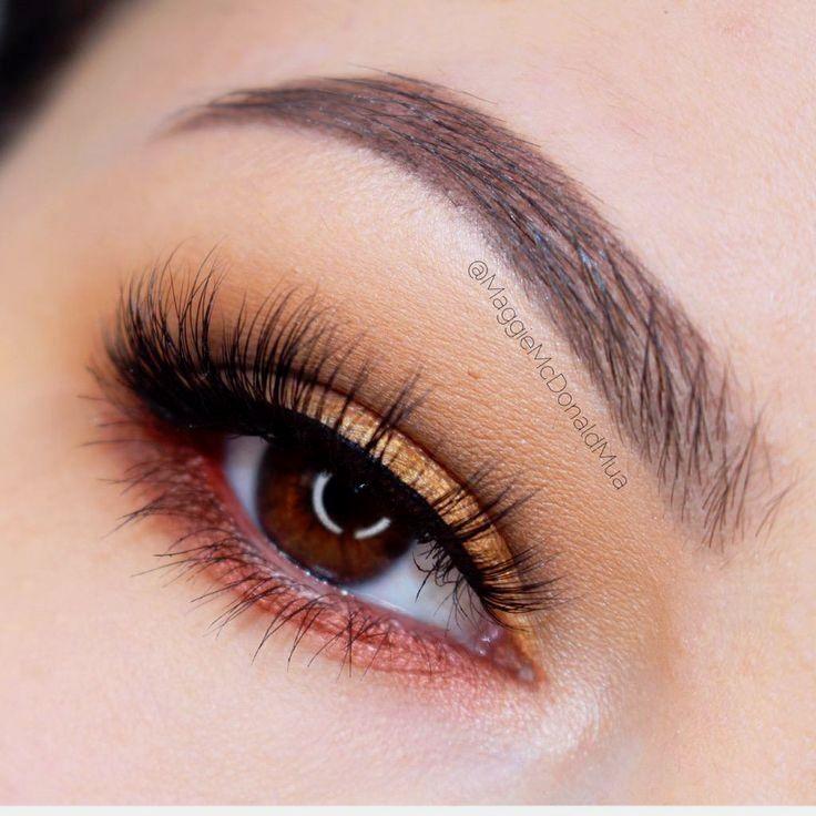 Stunning look by Maggie Mcdonald using Makeup Geek's Veg