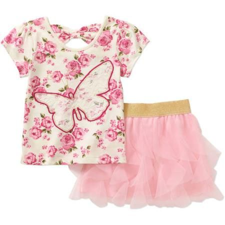 Walmart Baby Girl Clothes Mesmerizing Pinsarah Lovett On Little Girls Fashion Set  Pinterest Decorating Design