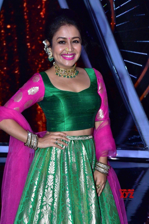 Mumbai Indian Idol 10 Neha Kakkar Gallery Social News Xyz Indian Wedding Outfits Indian Idol Stylish Swimsuits