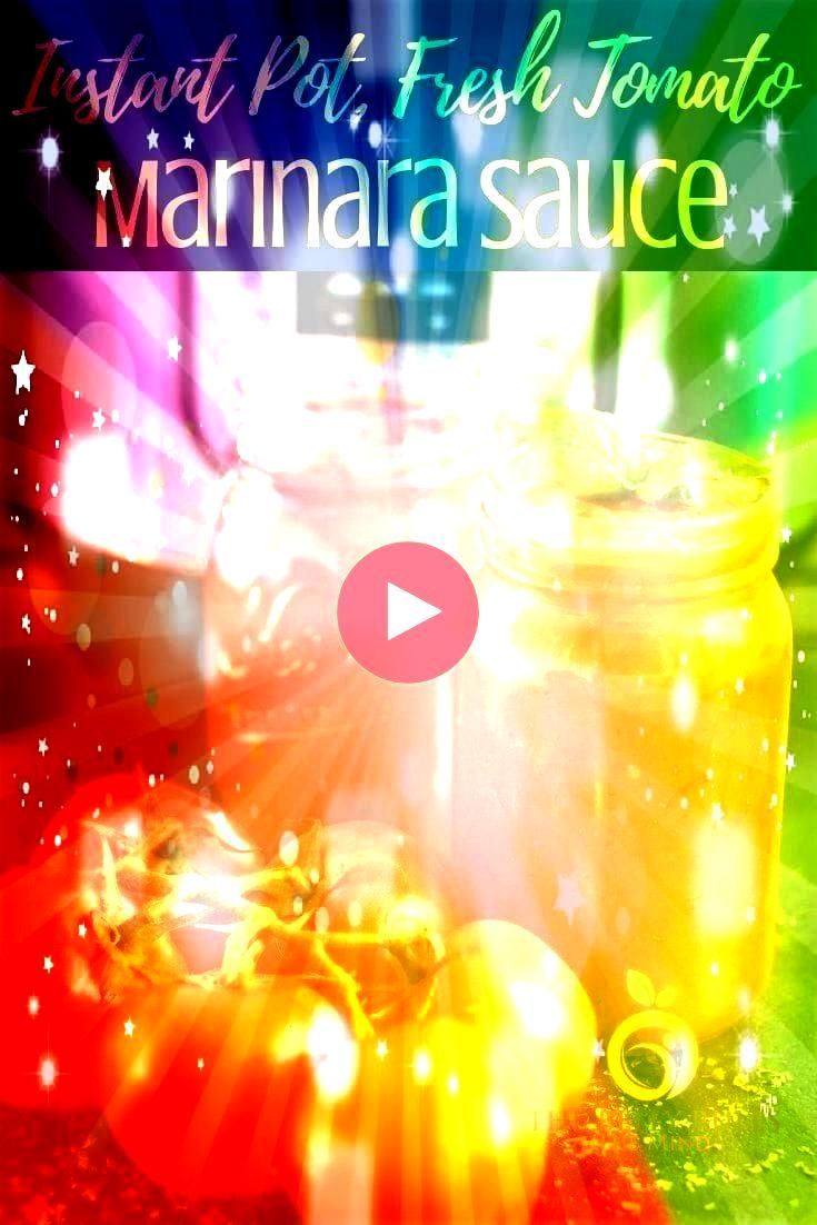 Sauce with Fresh Tomatoes  The Belly Rules The Mind  Recipes to try Instant Pot Marinara Sauce with Fresh Tomatoes  The Belly Rules The Mind  Recipes to try  An easy mari...