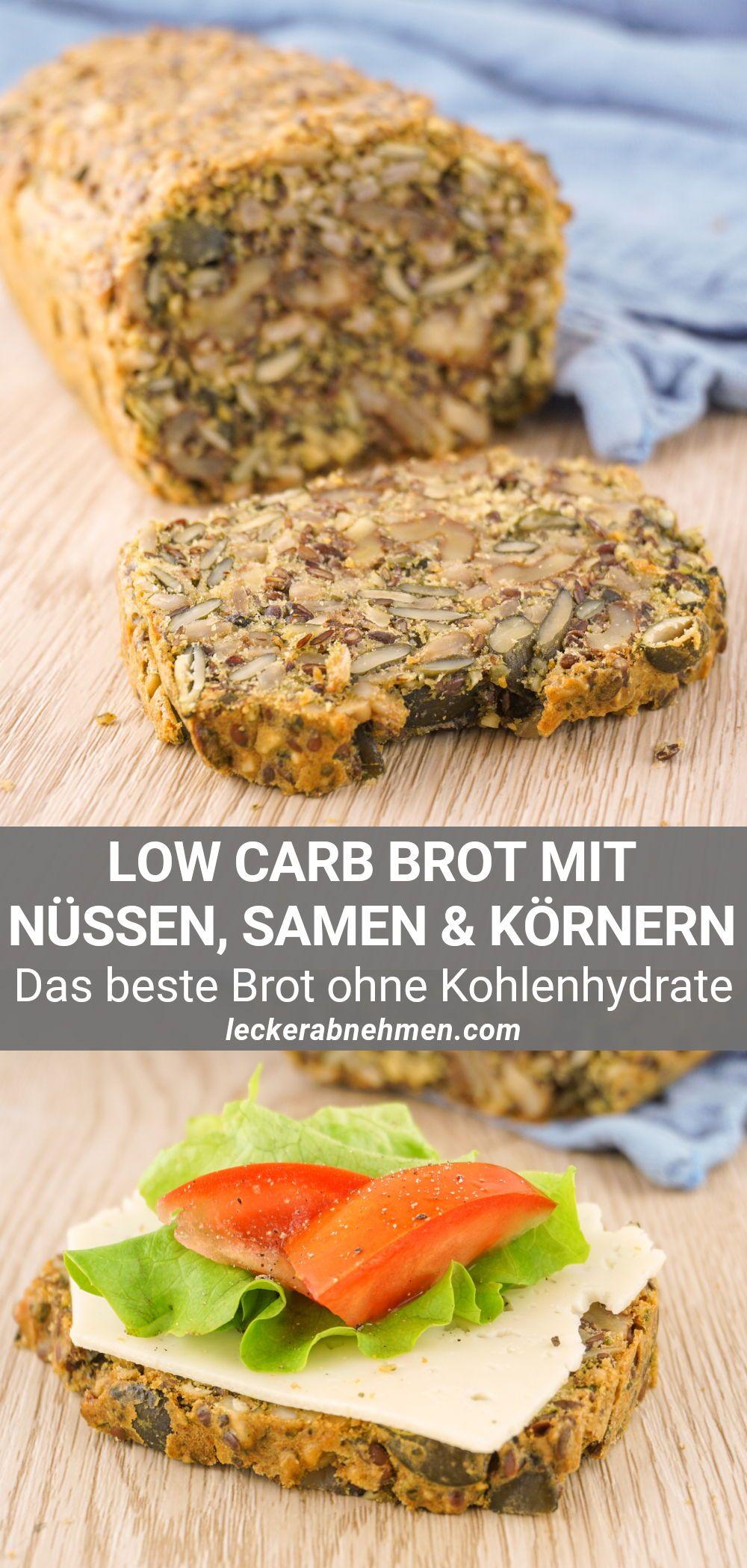 Low Carb Brot mit Nüssen – Einfaches & leckeres Rezept