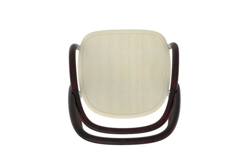 Jaroslav Jurica Chair 002 For Ton Top View Chair Photography Chair Drawing