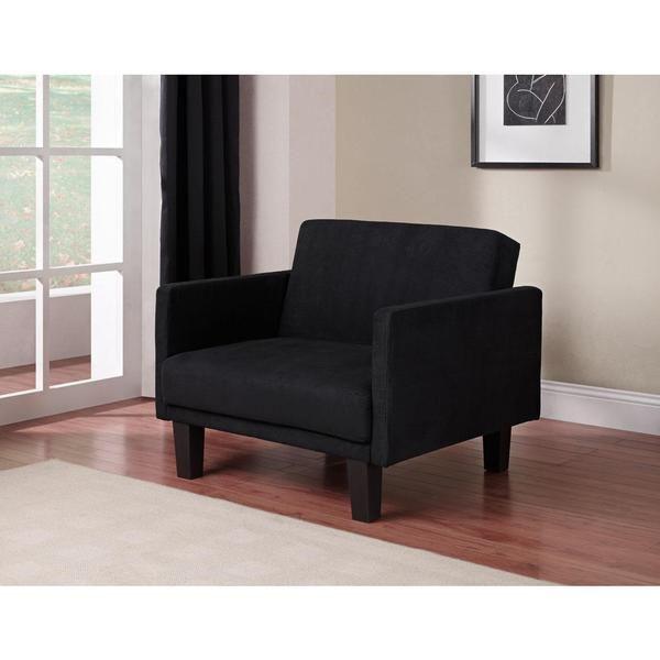 DHP Metro Futon Chair, Black  $139.99