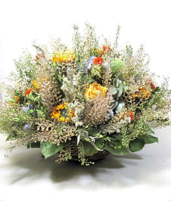Dried Floral Arrangement   $48.00  #driedflowers
