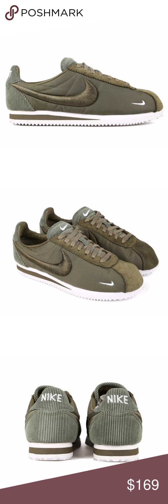 Nike classic cortez sp olive green womens size 8 nwt Nike classic
