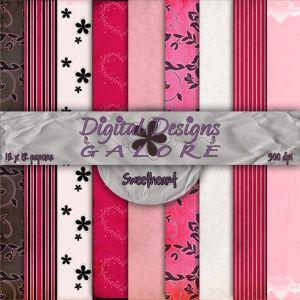 Sweetheart Digital Paper Pack