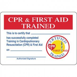 Pin Themed Items Gt Certification Wallet Cards Cpr Amp First Aid On Pinterest Cpr First Aid Cpr First Aid
