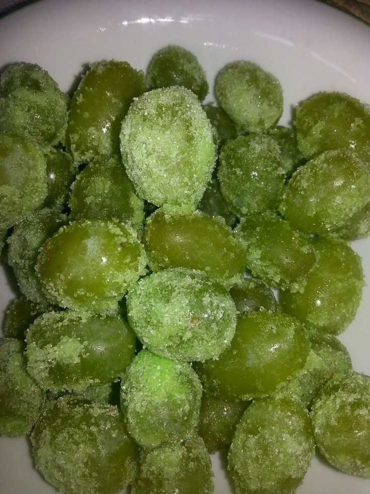 "Sour Patch Grapes! ""I saw this Recipe &  ooo. Jell-o on grapes. So I thought this will not cost a lot to try. And guess what they are really Good.  They have a little crunch...""  @allthecooks #recipe"