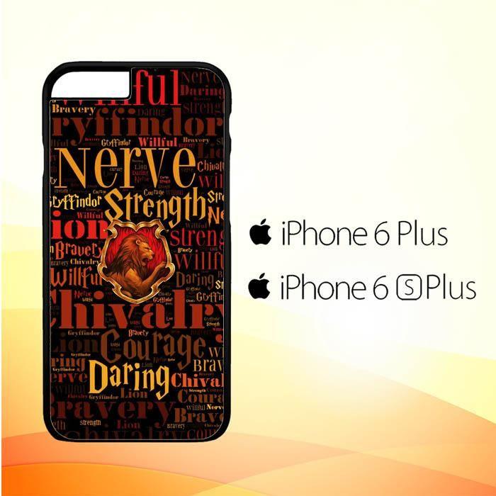 Harry Potter Gryffindor Quotes Y1674 Iphone 6 Plus6s Plus Case