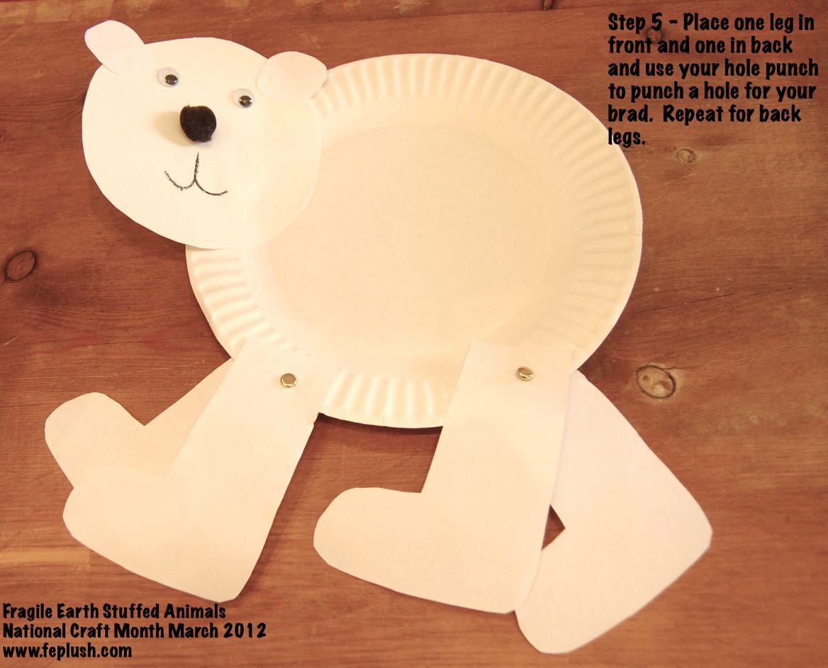 Walking Polar Bear Day 9 National Craft Month March