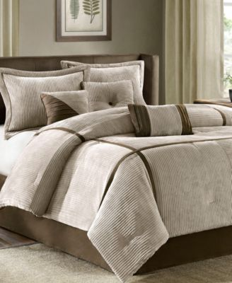 Madison Park Dallas 7-Pc. California King Comforter Set & Reviews - Bed in a Bag - Bed & Bath - Macy's