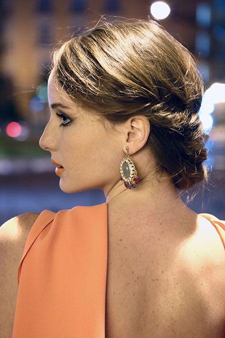 recogidos para pelo corto - Buscar con Google Peinados y Color