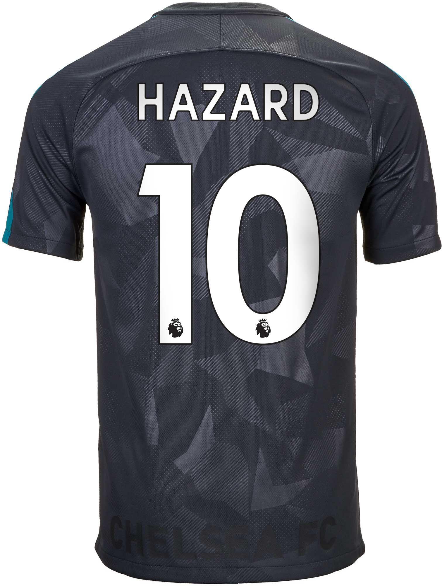 Nike Eden Hazard Chelsea 3rd Jersey 2017-18  d3fbf780a