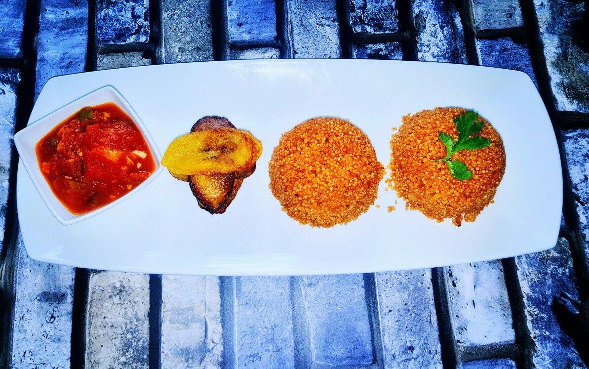 Quinoa jollof is tasty and very healthy as always  good food +God = Google health