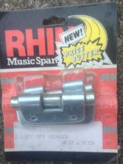 Rhino Lift Off Hinges £2 http://paulclews888.weebly.com/musical-instruments-for-sale.html #Ilfracombe #Barnstaple #NDevon #NorthDevon #Devon