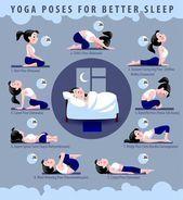 Pourquoi n'essayes-tu pas ce soir? #yoga #sleep #yogaposes #sleepbetter #sleepyo   - Gesundheit und...