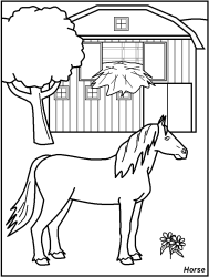 farm animals coloring pages for kids printable   FREE Printable Farm Animal Coloring Pages - great for kids ...