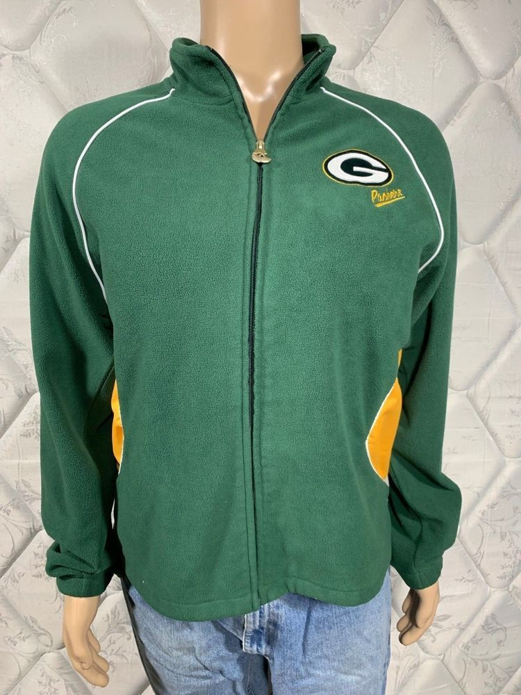 a4bd230c Packers NFL Team Apparel Reebok Womens Sweater XXL Full Zip Up ...