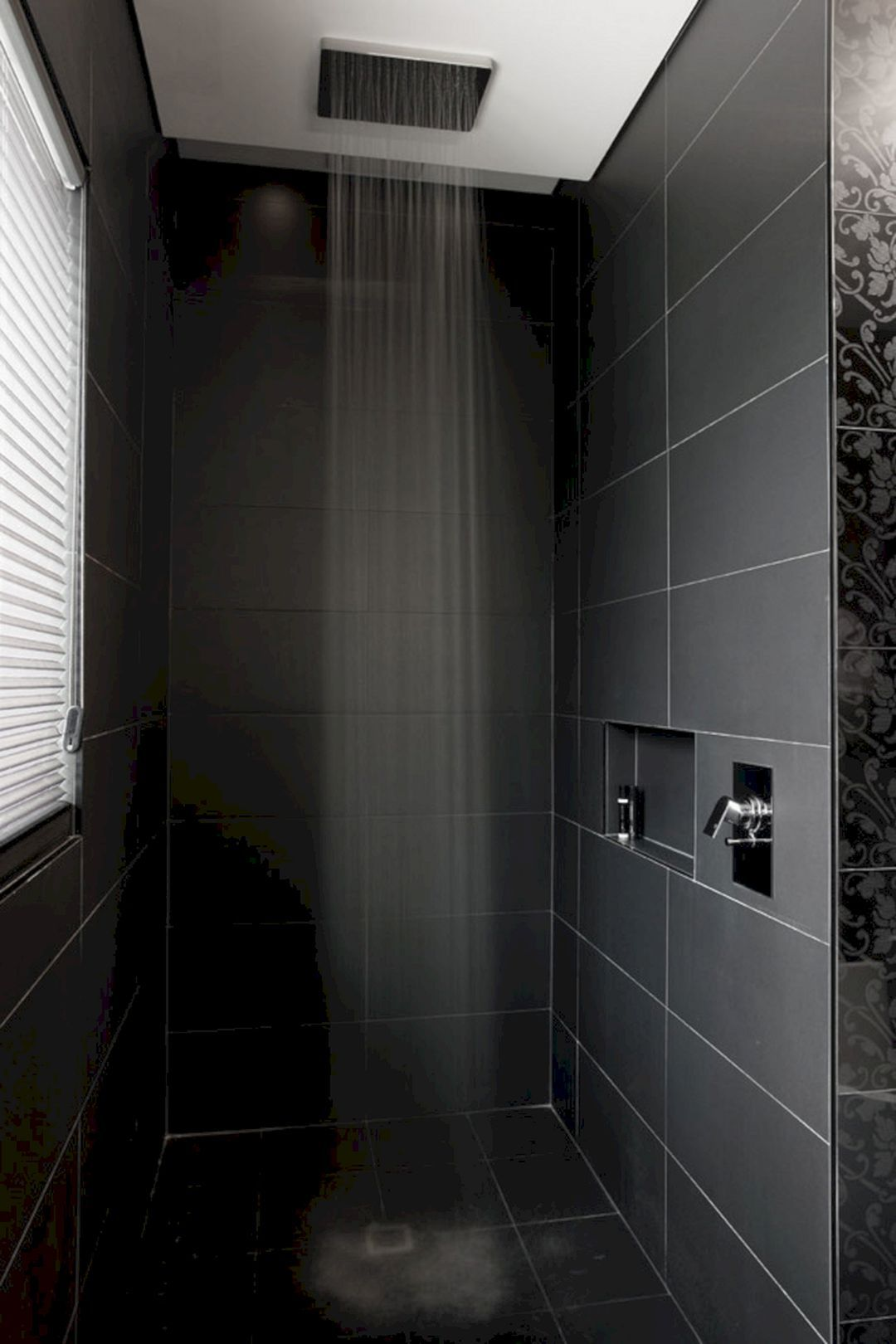 12 awesome black shower tile ideas for bathroom