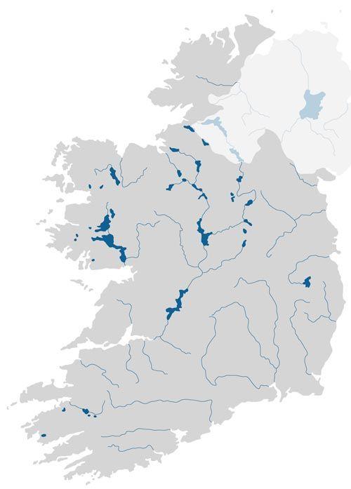 Irland Cliffs Of Moher Karte.Karte Von Irland Und Nordirland Ireland Ireland